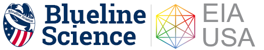 Blue Line Science Logo